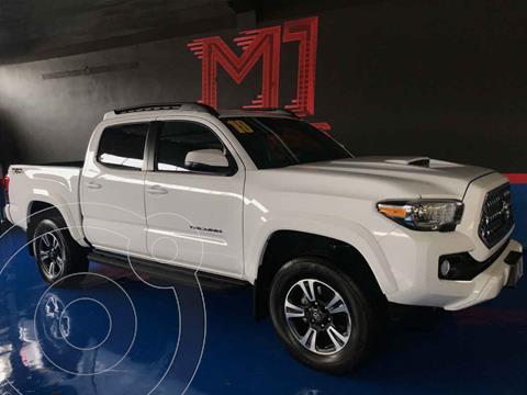 Toyota Tacoma TRD Sport  usado (2019) color Blanco precio $585,000