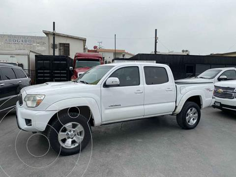 Toyota Tacoma TRD Sport 4x4 usado (2013) color Blanco precio $315,800