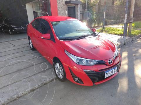 Toyota Yaris Sedan 1.5 XLS usado (2019) color Rojo precio $1.890.000