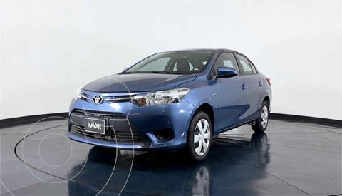 Toyota Yaris Sedan Core usado (2017) color Azul precio $196,999