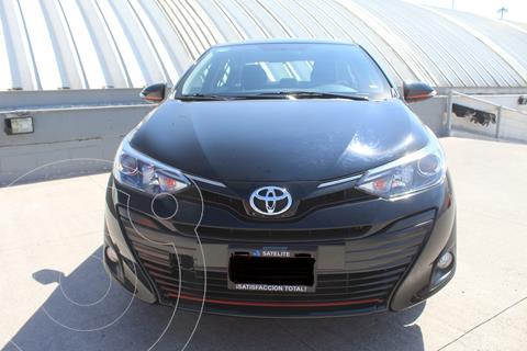 Toyota Yaris Sedan S Aut usado (2020) color Negro precio $262,000
