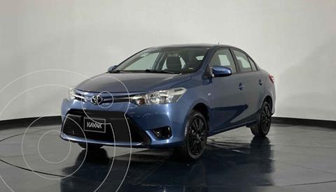 Toyota Yaris Sedan Core Aut usado (2017) color Azul precio $197,999