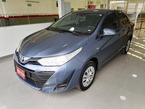 Toyota Yaris Sedan Base usado (2019) color Azul precio $207,000