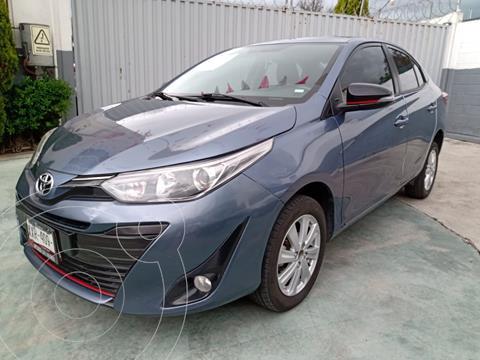 Toyota Yaris Sedan S usado (2020) color Azul precio $255,000