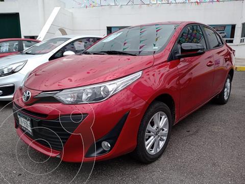 Toyota Yaris Sedan S usado (2020) color Rojo precio $260,000