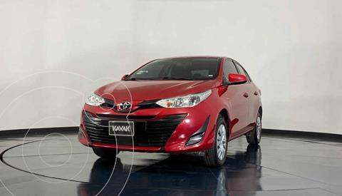 Toyota Yaris Sedan Core usado (2019) color Rojo precio $243,999