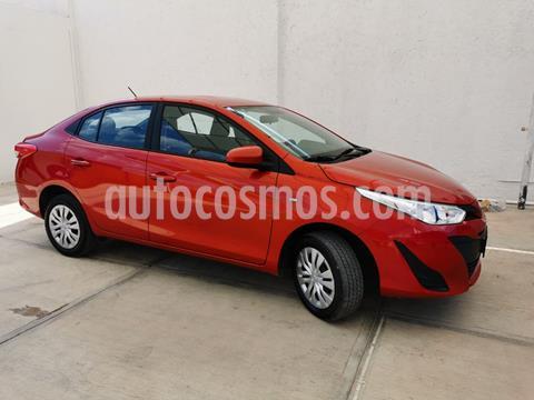 Toyota Yaris Sedan Core usado (2019) color Rojo precio $187,900