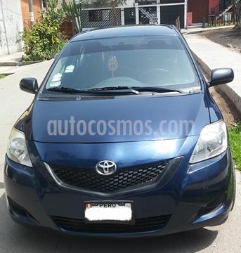 Toyota Yaris Sedan XLi 1.3L usado (2007) color Azul Oscuro precio $8,500