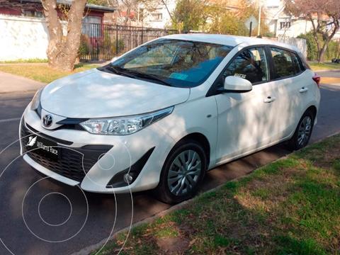 Toyota Yaris Sport 1.5L GLE usado (2019) color Blanco precio $12.190.000