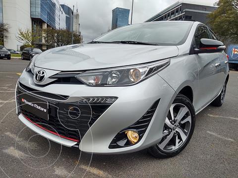 Toyota Yaris 1.5 S CVT usado (2021) color Gris precio $3.690.000