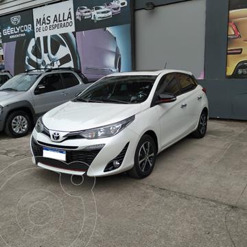 Toyota Yaris 1.5 S usado (2019) color Blanco precio $2.750.000