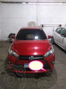 Toyota Yaris 1.5 S CVT usado (2018) color Rojo precio $1.595.000