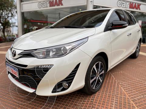 Toyota Yaris 1.5 S usado (2019) color Blanco precio $2.890.000