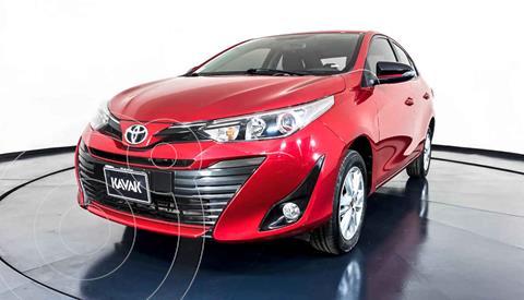 Toyota Yaris S Aut  usado (2018) color Rojo precio $254,999