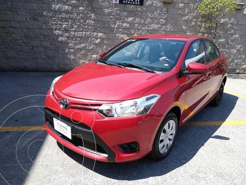 Toyota Yaris 5P 1.5L Core usado (2017) color Rojo precio $160,000