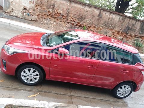 Toyota Yaris 5P 1.5L S Aut usado (2017) color Rojo precio $179,000