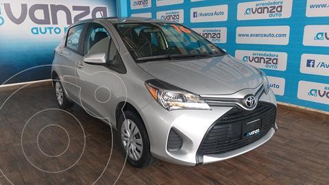 Toyota Yaris 5P 1.5L Core usado (2016) color Plata Dorado precio $163,000