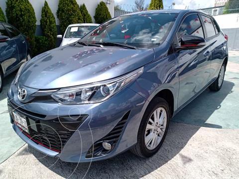 Toyota Yaris 5P 1.5L S Aut usado (2019) color Azul precio $258,000
