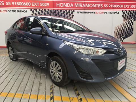 Toyota Yaris 5P 1.5L Core usado (2019) color Azul financiado en mensualidades(enganche $58,250 mensualidades desde $4,732)