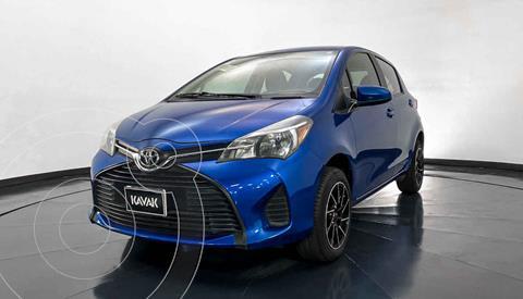 Toyota Yaris 5P 1.5L Core usado (2015) color Azul precio $152,999