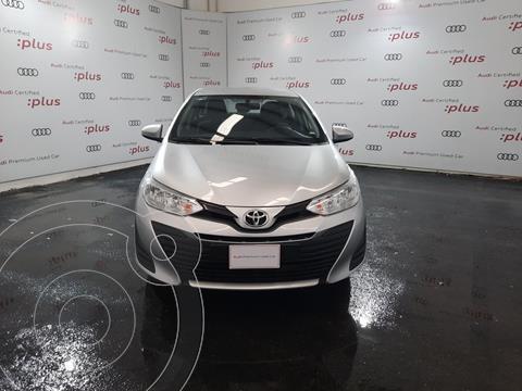 Toyota Yaris 5P 1.5L Core usado (2019) color Plata precio $235,000