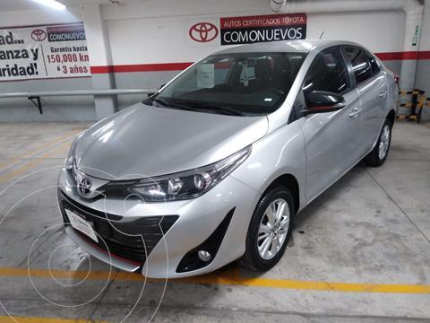 Toyota Yaris 5P 1.5L S usado (2018) color Plata Dorado precio $205,000