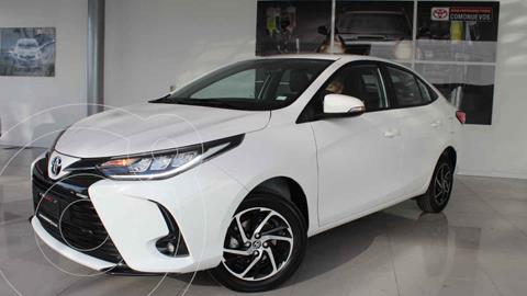 Toyota Yaris 5P 1.5L S usado (2021) color Blanco precio $272,000