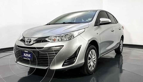 Toyota Yaris Core usado (2018) color Plata precio $212,999