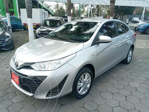 Toyota Yaris 5P 1.5L Core Aut usado (2019) color Plata precio $265,000