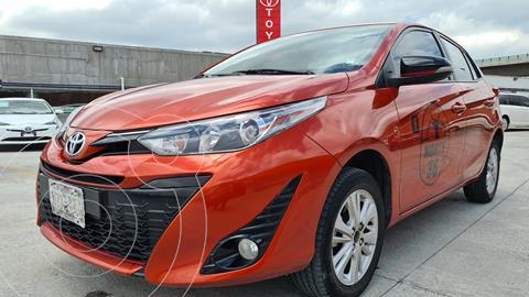 Toyota Yaris 5P 1.5L S usado (2019) color Naranja precio $249,000