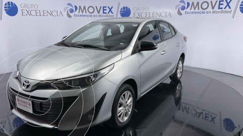 Toyota Yaris S usado (2019) color Plata precio $250,000