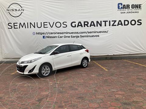 Toyota Yaris 5P 1.5L S Aut usado (2019) color Blanco precio $239,000