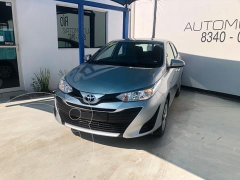 Toyota Yaris 5P 1.5L Core usado (2019) color Plata Dorado precio $218,000