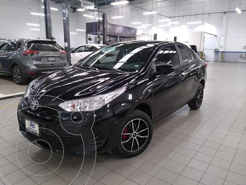Toyota Yaris 5P 1.5L Core usado (2019) color Negro precio $235,000