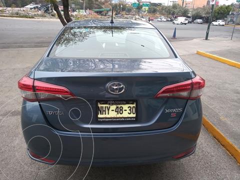 Toyota Yaris 5P 1.5L Core usado (2019) color Azul precio $219,000