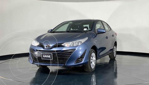 Toyota Yaris Core usado (2019) color Azul precio $244,999