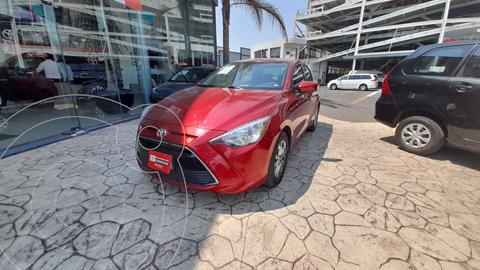 Toyota Yaris LE usado (2018) color Rojo precio $218,000