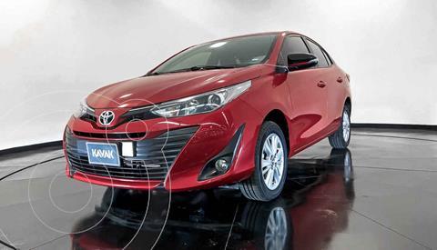 Toyota Yaris S usado (2019) color Rojo precio $252,999