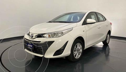 Toyota Yaris Core Aut usado (2018) color Blanco precio $214,999