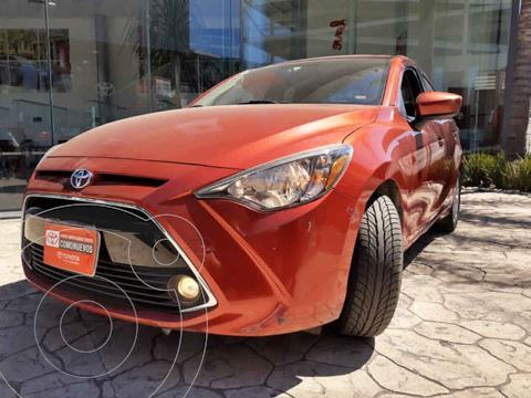 Toyota Yaris XLE Aut usado (2017) color Rojo precio $218,000