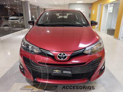 Toyota Yaris 5P 1.5L S usado (2019) color Rojo precio $229,000