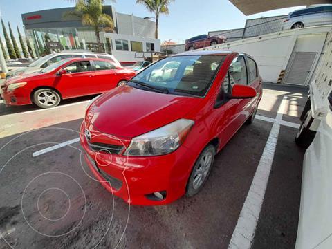 Toyota Yaris 5P 1.5L Premium usado (2014) color Rojo precio $158,000