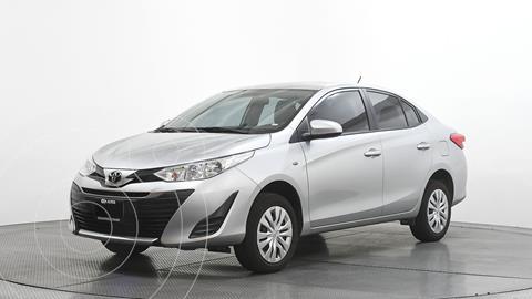 Toyota Yaris 5P 1.5L Core usado (2019) color Plata Dorado precio $217,000