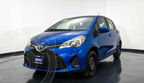 Toyota Yaris 5P 1.5L Core usado (2015) color Azul precio $162,999
