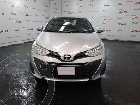 Toyota Yaris 5P 1.5L Core Aut usado (2020) color Plata precio $250,000