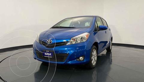 Toyota Yaris 5P 1.5L Premium Aut usado (2014) color Azul precio $159,999
