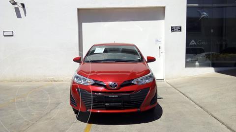 Toyota Yaris 5P 1.5L Core usado (2020) color Rojo precio $247,000