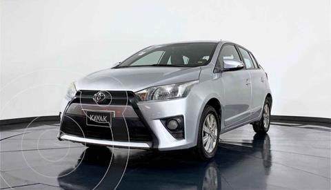 Toyota Yaris 5P 1.5L S usado (2017) color Plata precio $235,999