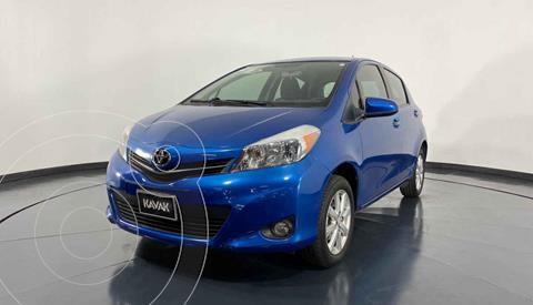Toyota Yaris 5P 1.5L Premium Aut usado (2014) color Azul precio $154,999