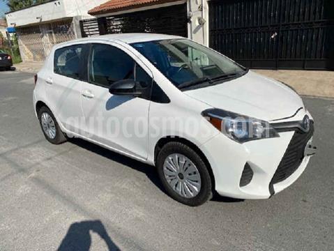 Toyota Yaris 5P 1.5L Core usado (2015) color Blanco precio $135,000